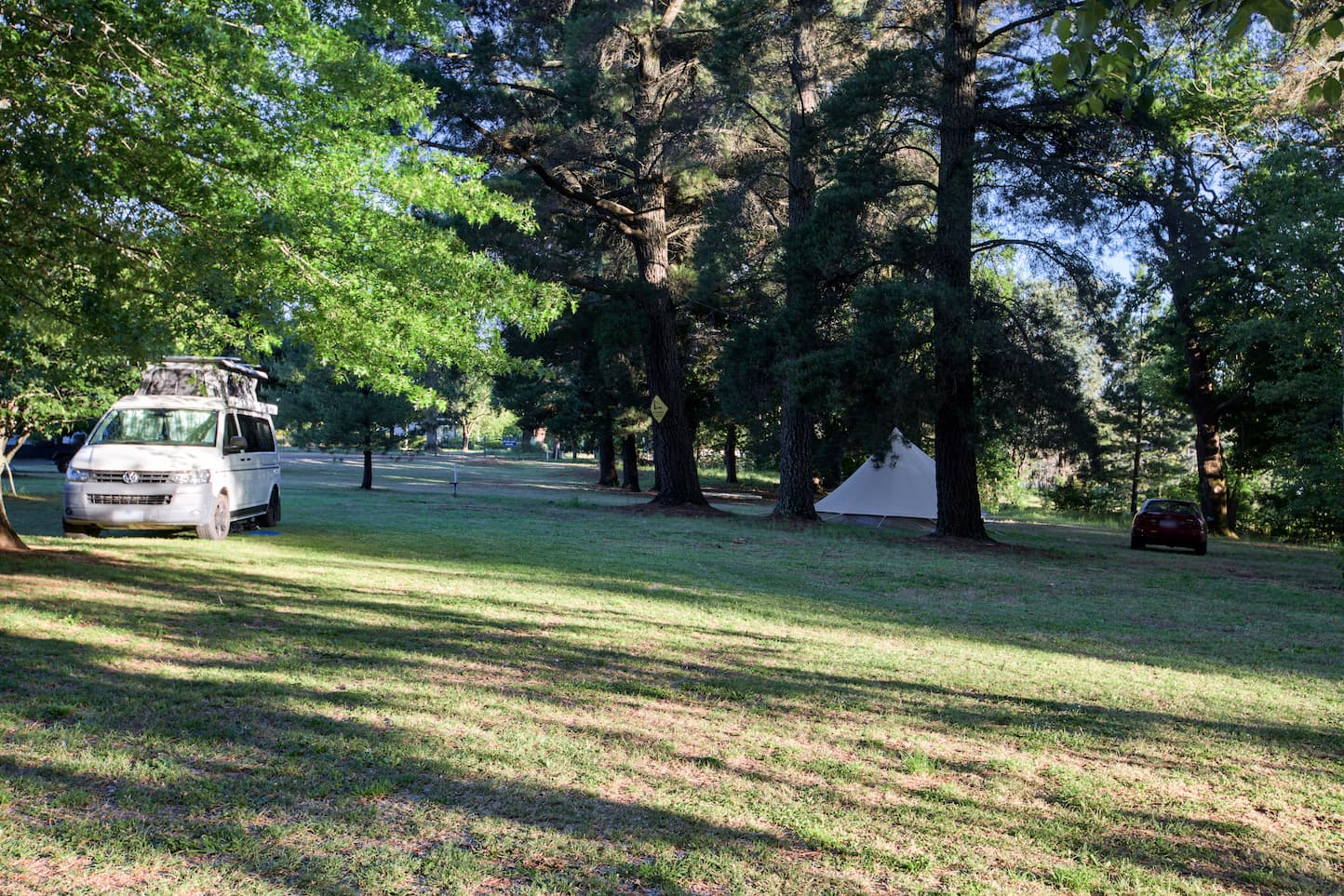 Daylesford Holiday Park Camping Campervan
