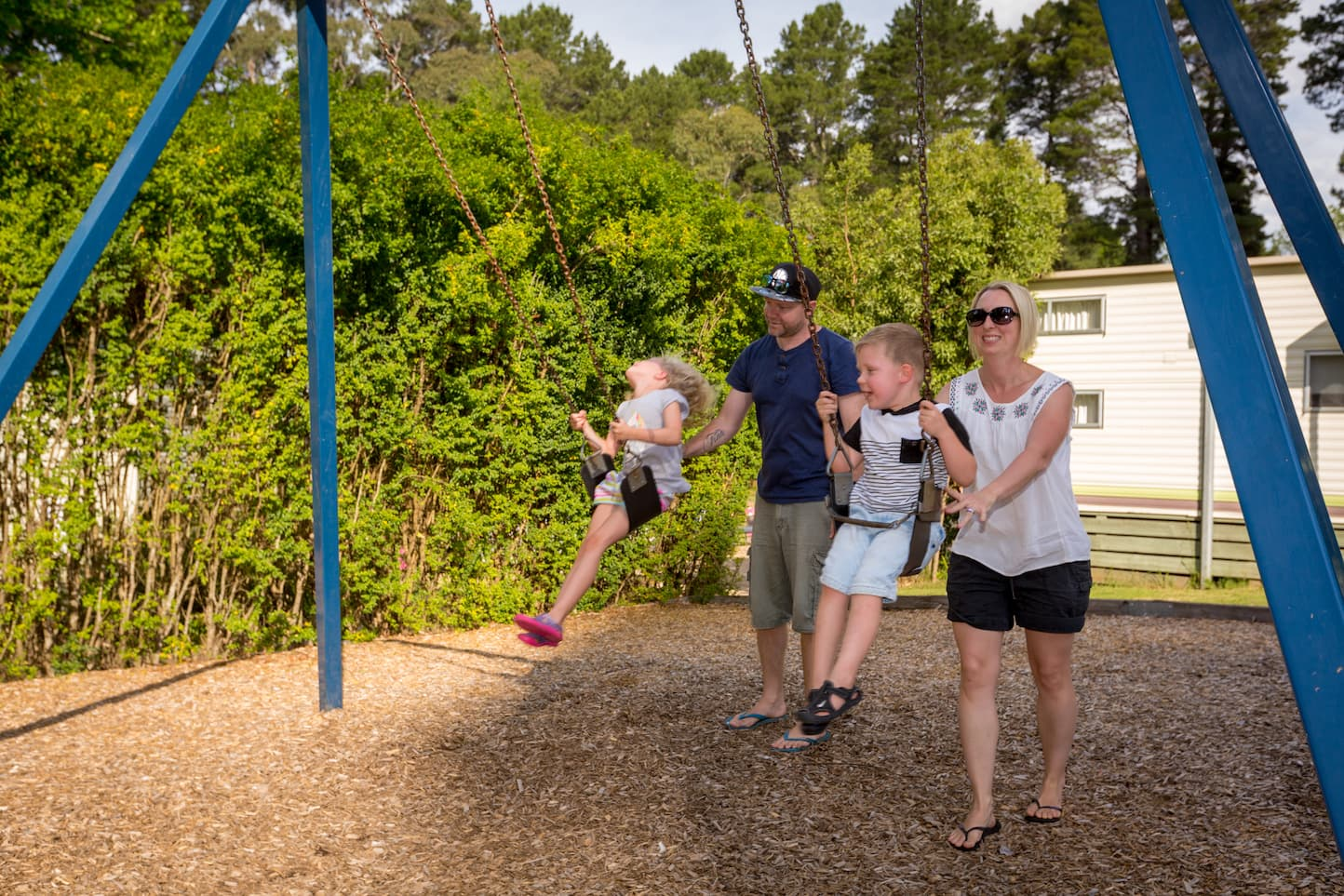 Daylesford Holiday Park Camping Family Fun