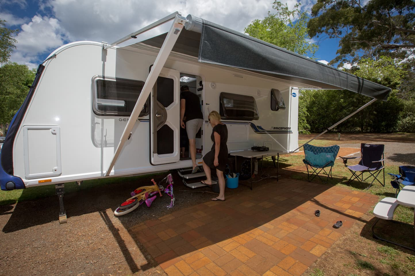 Daylesford Holiday Park Caravan Camping Sites Accommodation
