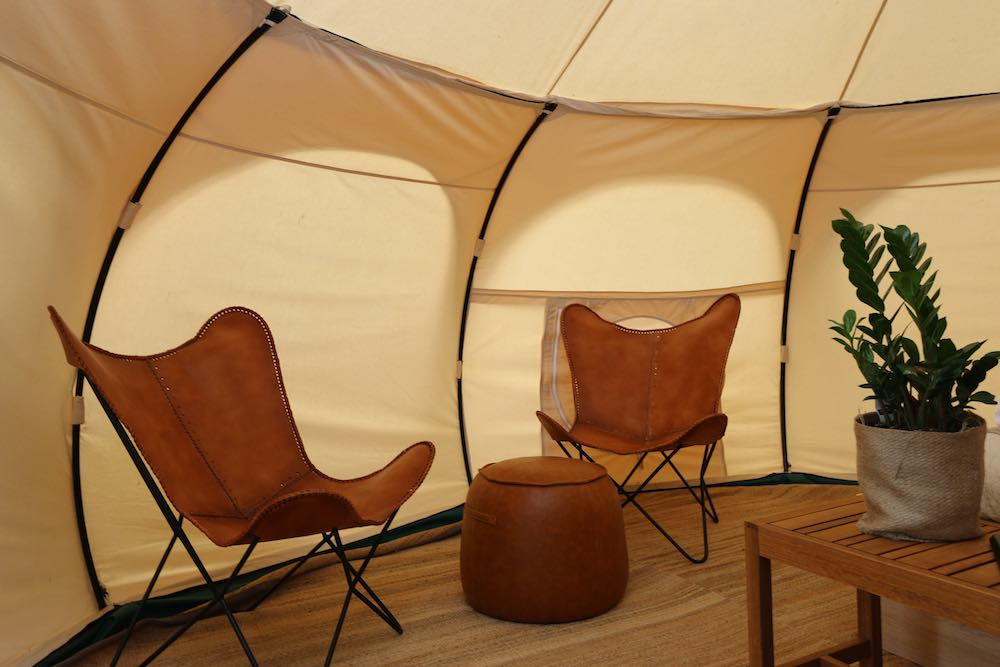 Daylesford-Glamping-Tranquility-Inside Chairs