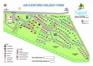 Daylesford-Holiday-Park-Map