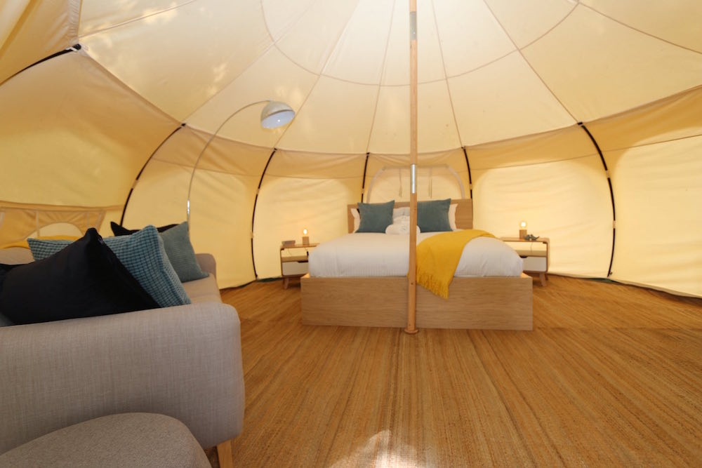 Daylesford-Glamping-Serenity-- Spacious Interior Wide 2