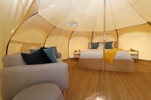 Daylesford-Glamping-Serenity-- Spacious Interior Wide