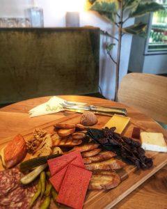 Sample Antipasto & Cheese Platter